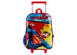 Mochilete-LUXCEL-Superman-VERMELHO